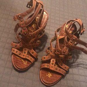 Rarely worn Sam Edelman studded heels
